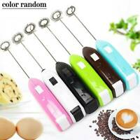 Electric Milk Frother Egg Beater Milk Stirrer Foamer Coffee Whisk Mixer Stirrer