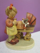 """""""Doll Mother"""" Goebel Hummel Figurine #67 Girl Praying With Her Doll - CUTE!"""