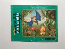 ADVENTURE ISLAND II - NES MANUAL ONLY (NO GAME/NO BOX)