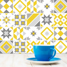 Traditional Tile Stickers Transfers Kitchen Bathroom 6 Col Options - 150mm - T20
