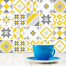 Tile Stickers - Kitchen and Bathroom - 6 Col Options Custom Sizes - 150mm - T20