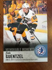 2018 UD National Hockey Card Day America Memorable Moments #USA-16 Jake Guentzel