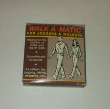 Walk-A-Matic Pedometer Comes With Instructional Guide New In Box Vintage Retro