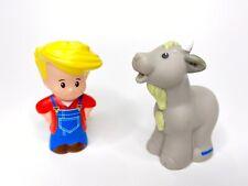 Fisher Price Little People Farmer Eddie Boy 2014 Figure for Farm Barnyard & Goat