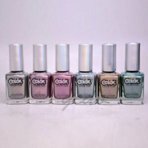 Color Club Halo Hues Holographic 2012 Nail Polish Lacquer Pick One