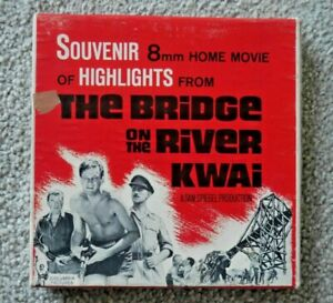 THE BRIDGE ON THE RIVER KWAI SUPER 8mm HOME FILM CAPITOL RARE IN BOX  I701