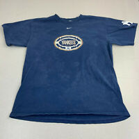 Vintage Nike Yankees T-shirt Mens Large Blue Short Sleeve MLB Casual