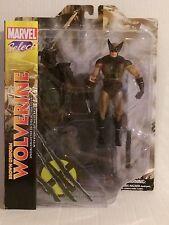 New Marvel Select Brown Uniform Wolverine X-Men Logan 2012