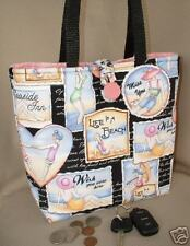 LIFE is a BEACH ~ FUN in the SUN ~ Handbag ~ Purse