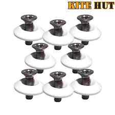 8 Kite Board M5 Fin Screws & White Washers, kitesurf, Twintip, Wakeboard Kitehut