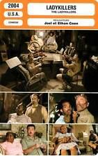 FICHE CINEMA : LADYKILLERS - Hanks,Wayans,Joel & Ethan Coen 2004
