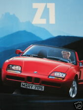 Prospectus brochure BMW z1 ROADSTER 1990 6 Couleurs