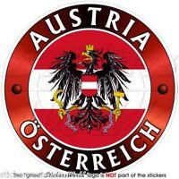 "Braunau am Inn Sticker Vinyl 10 cm 4/"" Decal Stamp Austria Österreich Car Wall"