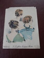 ART DECO HAIR Stylists ILLUSTRATION recent find in French SALON amazing  k