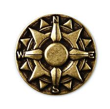 Compass Lapel Pin - Pins - Tie Tack - Gift Idea - Handmade - Gift Box