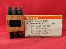 ASEA SK819001-A Bloque De Contacto Auxiliar Nuevo
