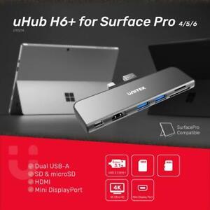 Microsoft Surface Pro Multi-function Hub SD/Micro SD/HDMI/Mini DP D1021A Unitek+