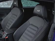 6 x VW R-line Stickers for Headrests Golf GTI Passat UP Volkswagen Emblem Logo