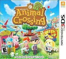 Animal Crossing: New Leaf (Nintendo 3DS, 2013)     (USED)   (S.L)