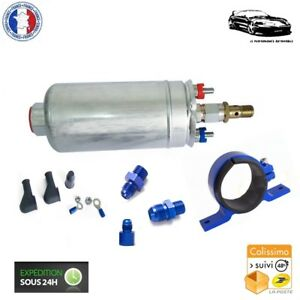 Kit Complet Pompe à Essence Externe Gros Débit 300 L/H pour Renault 21 2l Turbo