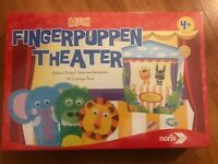 Noris MEIN FINGERPUPPEN THEATER 'MY FINGER PUPPET THEATRE TOY GAME 4+