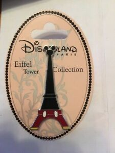 DISNEY DLRP  MCKEY MOUSE  EIFFEL TOWER PIN