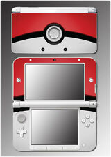 Pokeball Special Edition X and Y Video Game Skin Protector Cover Nintendo 3DS XL