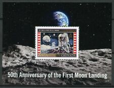 Grenada Stamps 2019 MNH Moon Landing Apollo 11 50th Anniv Space 1v S/S