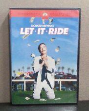 Let It Ride    (DVD)    Richard Dreyfuss    Rare OOP      LIKE NEW