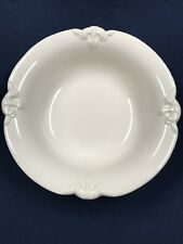 (2) HAEGER Serving Bowls White Ceramic Basin #3055
