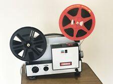 Cinerex 707 doppia velocità variabile 8 MM Super 8 CINE FILM PROIETTORE CINEMATOGRAFICO