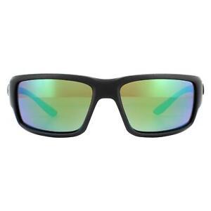 Costa Del Mar Sunglasses Fantail OGMGLP Blackout Green Mirror Polarized Glass