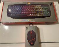 RGB Gaming Keyboard & Mouse Bundle