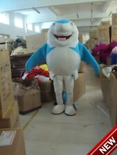 Blue Shark Mascot Costume Adult Character Costume Mascot Fashion Cosplay Outfits