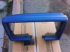 81 82 83 84 85 86 87 Buick Regal Dashboard Cluster Surround Pad