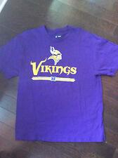 Mens Purple Minnesota Vikings T-Shirt Nfl Team Apparel Large