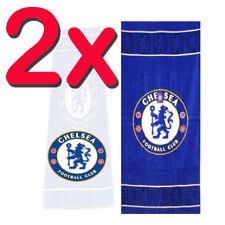 2X Official Licensed Chelsea Fc Football Towels Beach Bath Gym Towel Sheet Swim