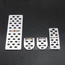 MT Foot Rest RALLIART Pedal Set For Mitsubishi Lancer 08-13 09 10 11 12