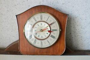 Wanduhr Quarz analog Holz Wohnzimmer Uhr kaufen Funktionsfähig