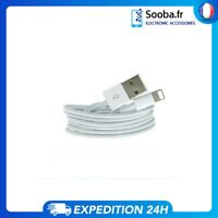 Câble iPhone 1M USB Charge Sync Chargeur iPhone 5/6/7/8/X/XS/SE/11/12