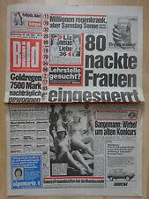 Bild Zeitung vom Donnerstag den 19.7.1984, Liz Taylor, Linda Lusardi,
