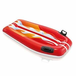 INFLATABLE Surfer Ride On Pool Beach Float Lillo Kids Childrens Ride On Lounger