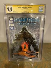 Swamp Thing Winter Special #1 CGC SS 9.8 Signed by Jason Fabok