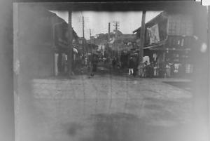 altes Foto Negativ vermutlich China oder Japan um 1900 Zelluloidfilm K1