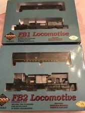 HO Proto 2000 Series Pennsylvania  FB 1 & 2 Powered Locomotives NIB
