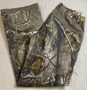 Game Winner Realtree AP Camouflage Pants Zip Legs Women Hunting Size XL