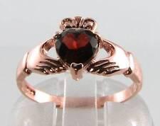 9 Carat Garnet Rose Gold Victorian (1837 - 1901) Fine Rings