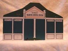 Vintage The Cat's Meow Victorian Wooden Building Chippewa'S Marine Dining Room
