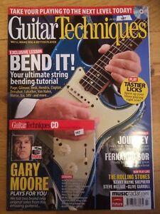 Guitar Techniques magazine & CD: July 2009