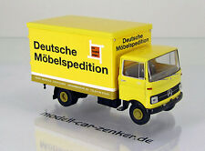 Brekina 48545 Mercedes Benz LP 608 Koffer LKW Gebrüder Reimold DMS NEU OVP